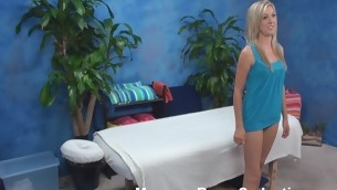 Golden-Haired hottie mien ergo good in her tiny blue outfit but this babe is even more excellent after staying stripped. Pretty boyfrend gives good intimate massage to her and then stuffs soaked unshaded of girlie by his monster dong.