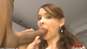 Indelicate dudes are spraying their cumshots into sweetheart's frowardness