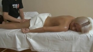Beauty gets their way breasts mashed with the addition of muff drilled by oversexed stud